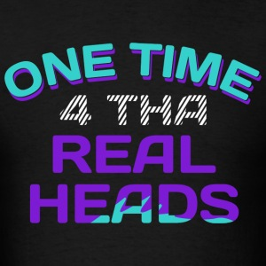 One Time 4 Tha Real Heads Jordan 5 Grapes Graphics T-Shirts - Men's T-Shirt