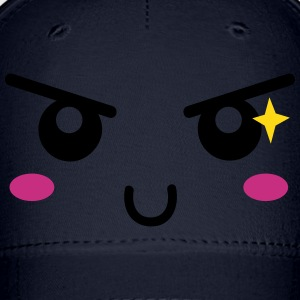 mischief face with naughty sparkle Caps - Baseball Cap
