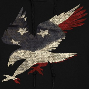 Old Glory American Flag Eagle Hoodies - Women's Hoodie