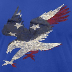 Old Glory American Flag Eagle T-Shirts