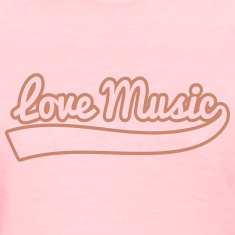 love music vintage Women's T-Shirts