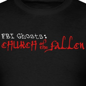 FBI Ghosts Church of the Fallen Logo  T-Shirts - Men's T-Shirt