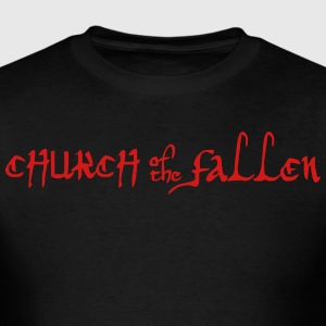 Church of the Fallen Logo  T-Shirts - Men's T-Shirt