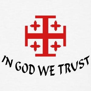 In God we trust (1c) T-Shirts - Men's T-Shirt