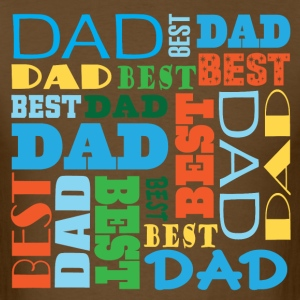 Best Dad (Father's Day) Mens T-shirt - Men's T-Shirt