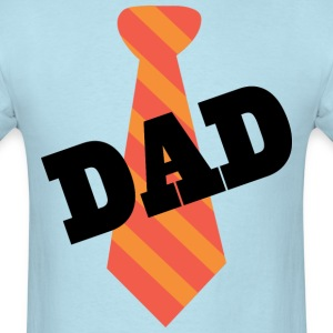 Dad Father's Day Mens T-shirt (Necktie) - Men's T-Shirt