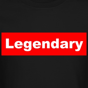 Legendary Black Crewneck - Crewneck Sweatshirt