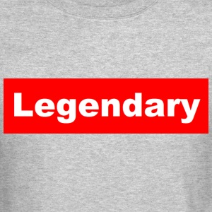 Legendary Grey Crewneck - Crewneck Sweatshirt