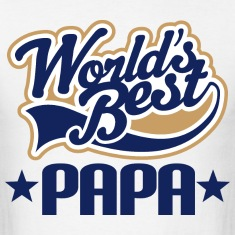 Papa Mens T-shirt (Worlds Best)