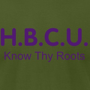 HISTORICALLY BLACK COLLEGE UNIVERSITY - Men's T-Shirt by American Apparel