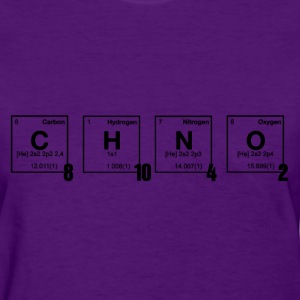 caffeine - Periodic Element Scramble - Women's T-Shirt