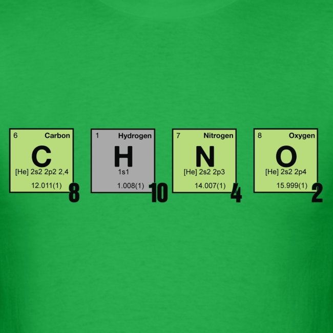 caffeine - Periodic Element Scramble
