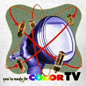 R U ready for Color TV? - Men's T-Shirt