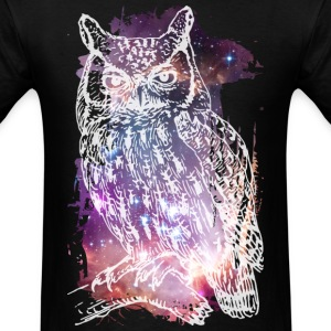 Cosmic Owl T-Shirts - Men's T-Shirt