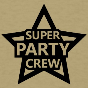 Super Party Crew T-Shirts - Men's T-Shirt