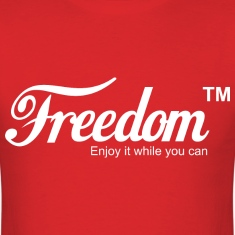 Freedom Coca Cola Coke Parody T shirt