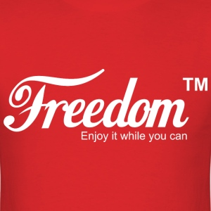 Freedom Coca Cola Coke Parody T shirt - Men's T-Shirt