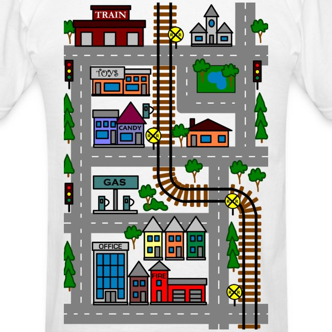 Fathers Day Playmat Tshirt! Car And