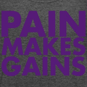 Pain Makes Gains - AMRAP Style Tanks - Women's Flowy Tank Top by Bella