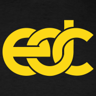 Design ~ EDC Fan Festival Tshirt - Flock Print Yellow
