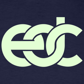 Design ~ EDC Fan Festival Tshirt - GLOW IN THE DARK - Specialy Flex Print