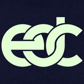 Design ~ EDC Fan Festival Tshirt - GLOW IN THE DARK - Specialy Flex Print
