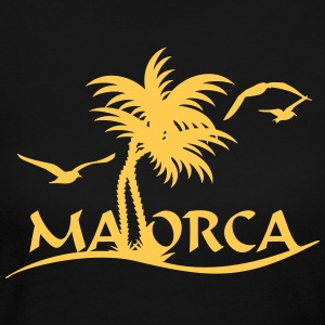 Mallorca palm trees (1c) Long Sleeve Shirts - Women's Long Sleeve Jersey T-Shirt
