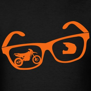 Enduro glasses - Men's T-Shirt