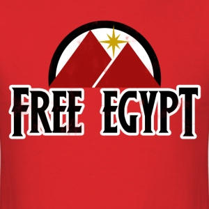 Free Egypt - Men's T-Shirt