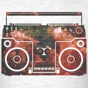 Cosmic Boombox T-Shirts - Men's T-Shirt