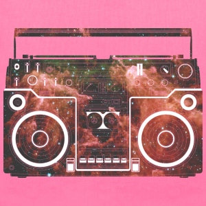 Cosmic Boombox Bags & backpacks - Tote Bag