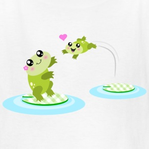 Mother and child cute frogs Kids' Shirts - Kids' T-Shirt