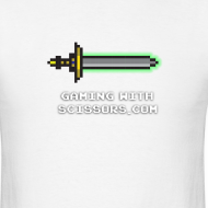 Design ~ White Pixel Sword 2 Mens