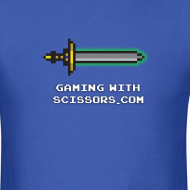 Design ~ Blue Pixel Sword 2 Mens