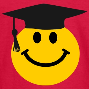 Graduate Smiley face Kids' Shirts - Kids' Long Sleeve T-Shirt