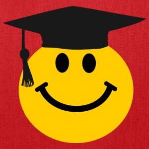 Graduate Smiley face Bags & backpacks - Tote Bag