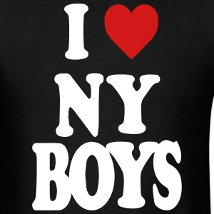 I LOVE NEW YORK BOYS T-Shirts - Men's T-Shirt