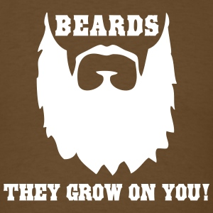 Bears. They Grow on You T-Shirts - Men's T-Shirt