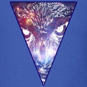 Triangle Owl - Bird - Hipster - Space - Cool T-Shirts - Men's T-Shirt