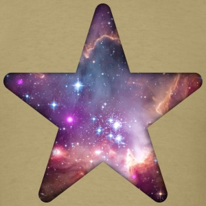 Galaxy Star T-Shirts - Men's T-Shirt