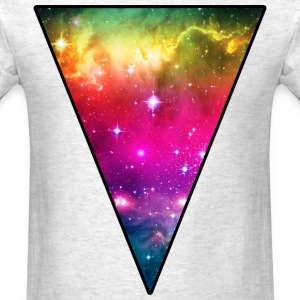 Rainbow Space Triangle T-Shirts - Men's T-Shirt