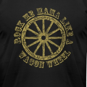 Wagon Wheel - Men's T-Shirt by American Apparel