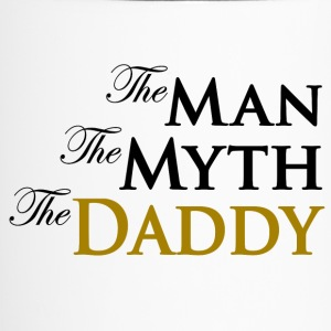 The Man The Myth The Daddy Bottles & Mugs - Travel Mug