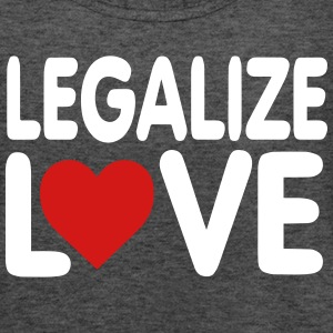 LEGALIZE LOVE Tanks - Women's Flowy Tank Top by Bella