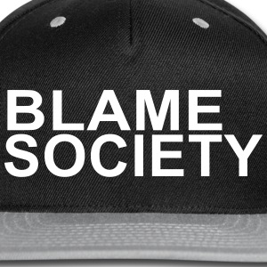 BLAME SOCIETY hat | Snapback - Snap-back Baseball Cap