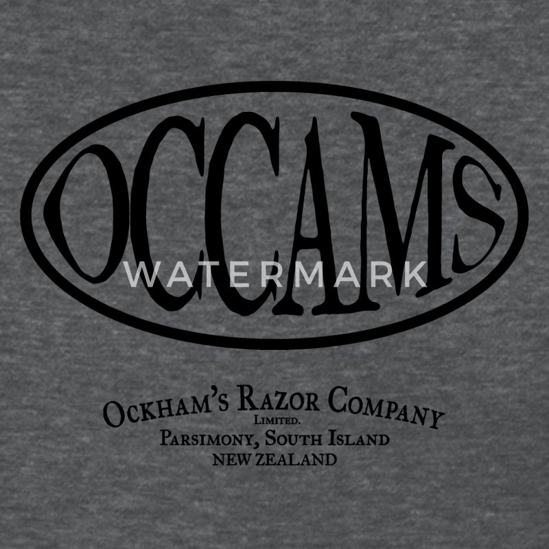 occam's razor - Women's T-Shirt
