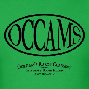occam's razor - Men's T-Shirt