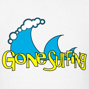 Gone Surfing T-Shirts - Men's T-Shirt