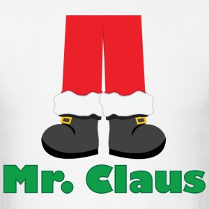 Santa Claus Feet (Mr Claus) - Men's T-Shirt