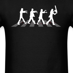 Zombies on Abbey Road (2nd Version) - Men's T-Shirt